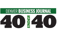 Denver Business Journal Forty under 40