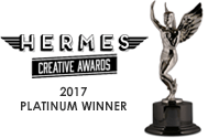 2017 Platinum Winner - Hermes Creative Awards