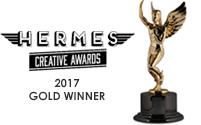 2017 Gold Winner - Hermes Creative Awards