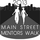 Main Street Mentors Walk
