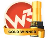 Gold W3 Award