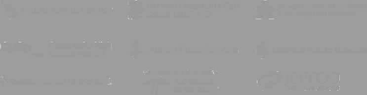 poudre school district, harvard community unit school district 50, douglas county school district, community high school district, sheridan school district, colorado springs school district 11, jeffco public schools