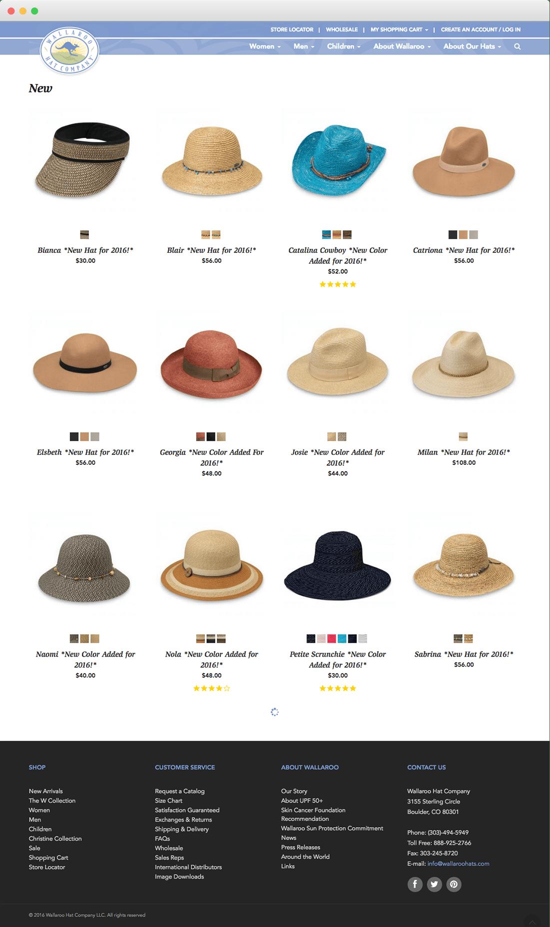 wallaroo product categories