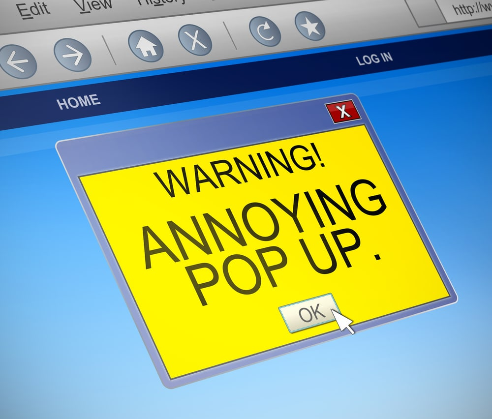 Why You Should Invest in Professional Website Design Annoying Pop Up Neon Rain