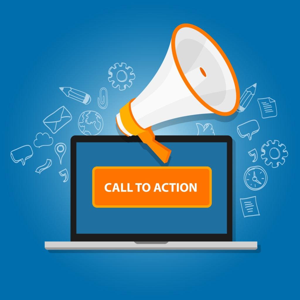 Integrating Strong Calls to Action Urgency Important CTA Neon Rain