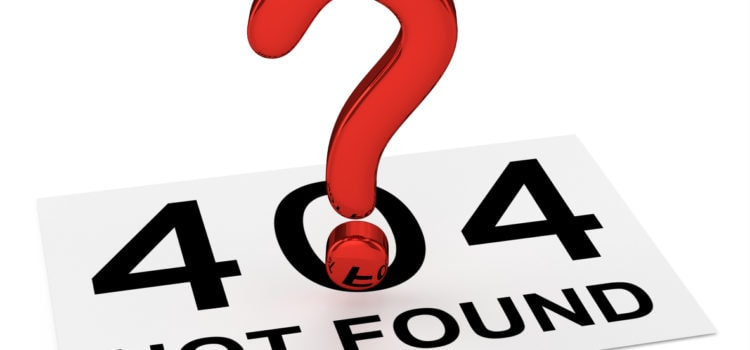what you need to know about 404 pages