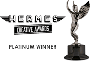 2017 Platinum Winner - Hermes Creative Awards