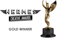 2017 Gold Winner - Hermes Creative Awards